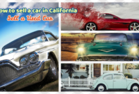How to sell a car in california