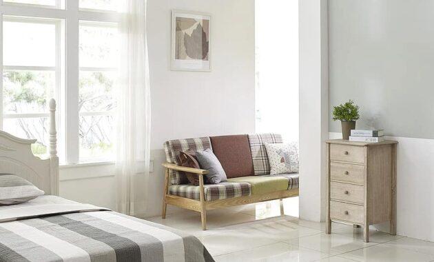 bedroom cupboard bed room sofa window living room light bright