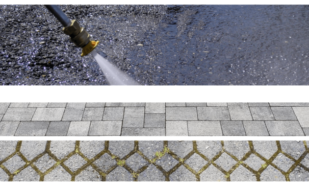 How to Clean Concrete Patio Using the Pressure Washer