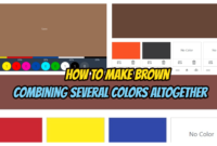 How to Make Brown