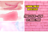 How to make pink