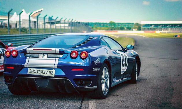 car race ferrari racing car pirelli speed blue metallic blue shiny race