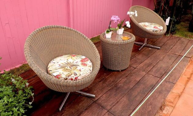 chairs table lounge cushions flowers decoration decorative home decor outdoors