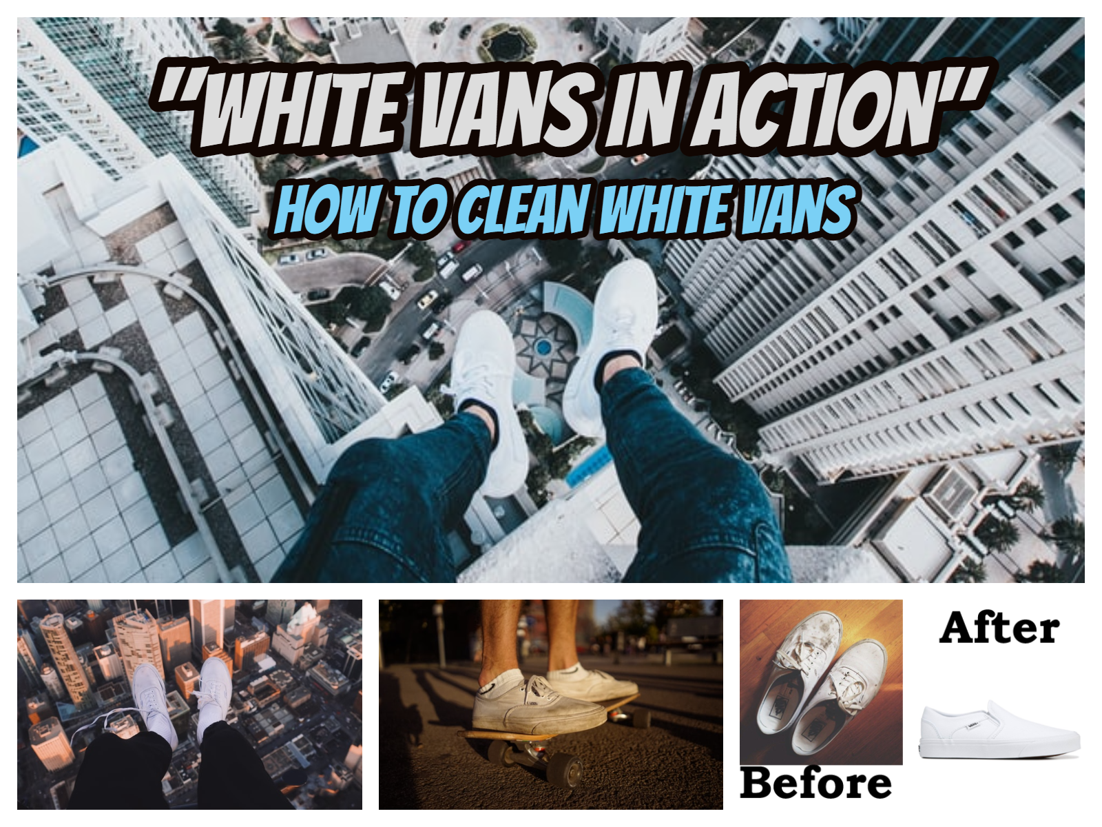 How to Clean White Vans white vans