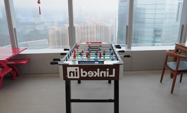 foosball linkedin office hong kong