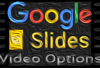 google slides automatic videos