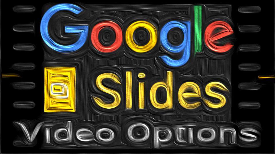 google slides automatic videos