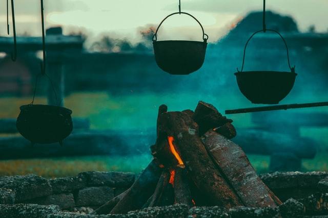 firewood smoke