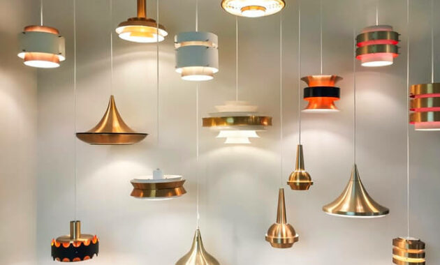 gold and silver ceiling light ideas