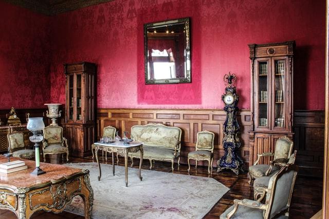 gold furniture ideas vintage design