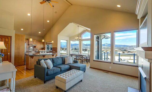 home real estate residential living room residence house view windows interior 1