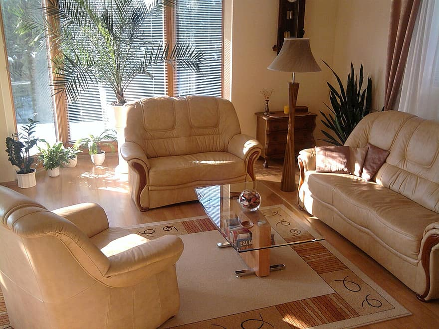 living room home house architecture winter garden