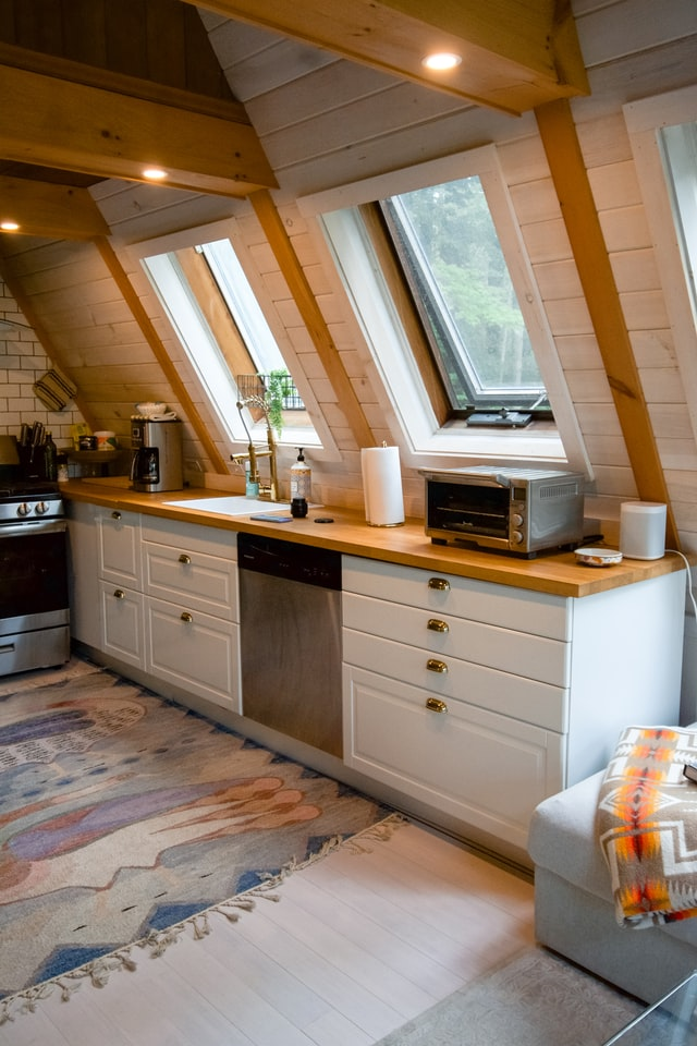 rustic kitchen ideas with wood material
