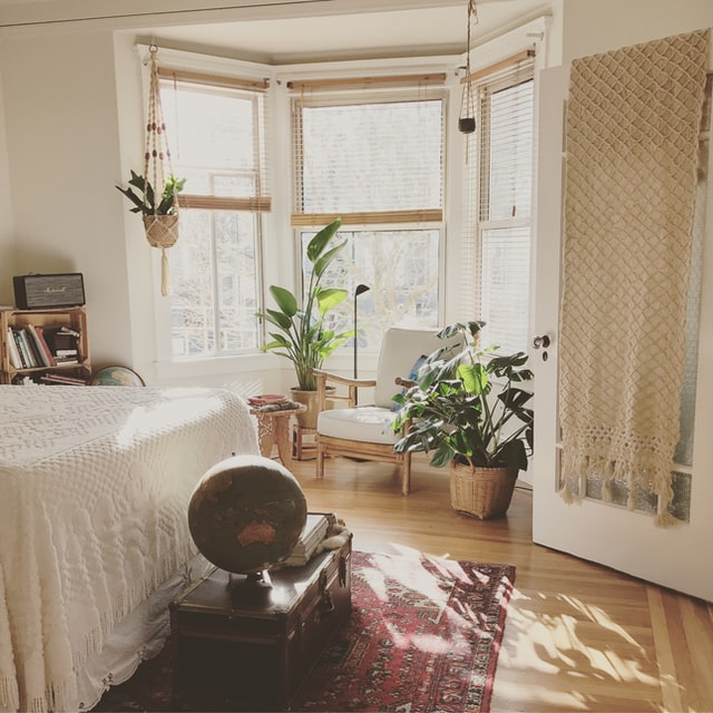 soft color gothic room