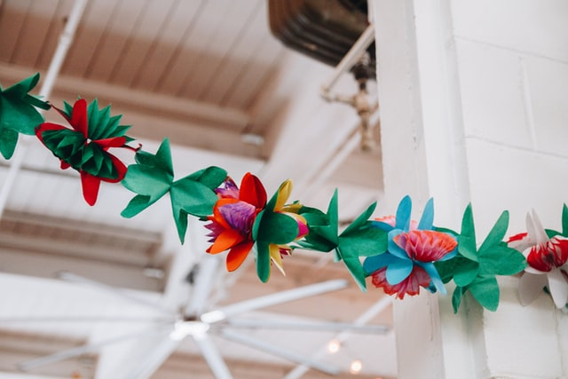 tissue and paper flower ideas