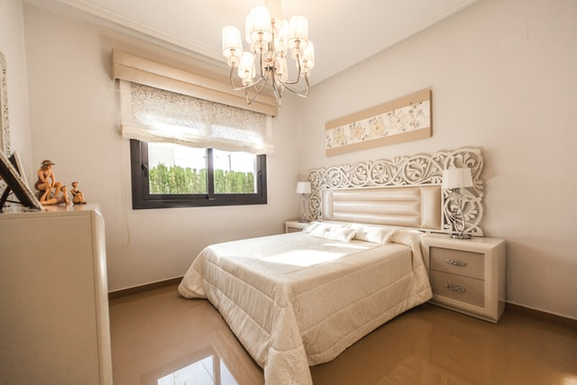 white accent bedroom ideas gothic