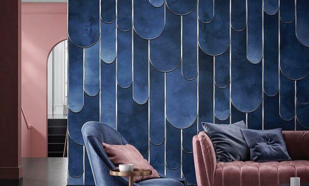 Beautiful Vinyl Wallpaper for living room ideas