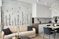calm wallpaper vinyl design
