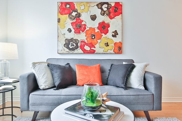colorful abstract wall painting ideas