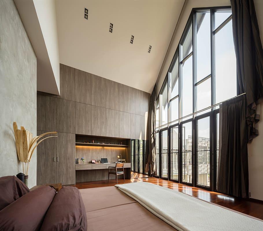 indoor living room villa home interior