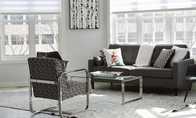 living room condo house apartment home interior room modern couch 1