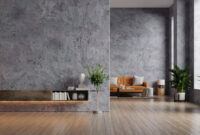 living room ideas black wall accent with wooden floor ideas