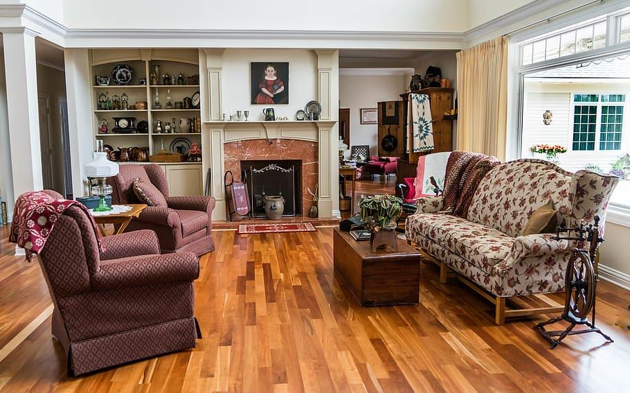 living room interior design sofa wood floor