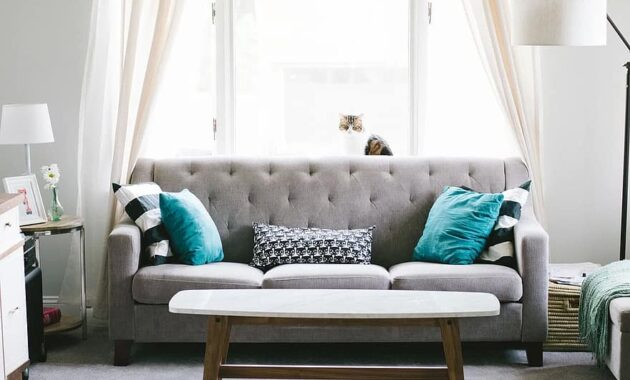 living room sofa couch interior design decoration pillow window curtain table