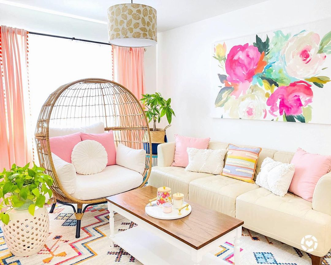 pinky furniture for living room ideas