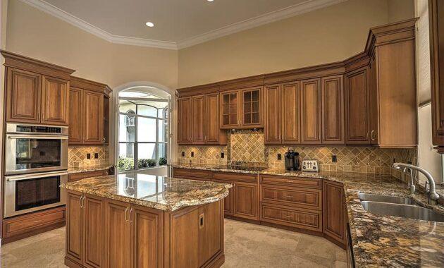 chefs kitchen luxury home granite counter tops parkland florida