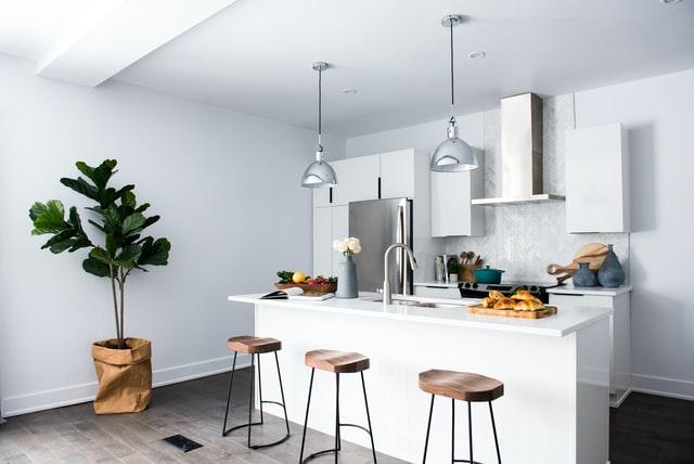 greenaries for beautiful kitchen ideas