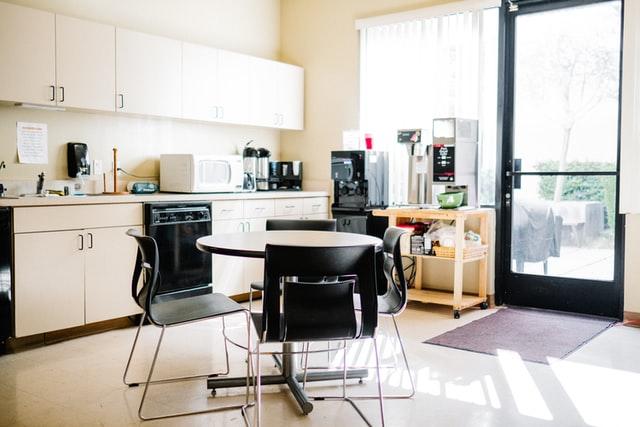 kitchen with curtain ideas