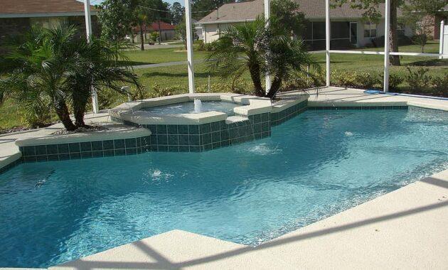 spa pool deck brick paver pool water swimming pool relaxation swim wet