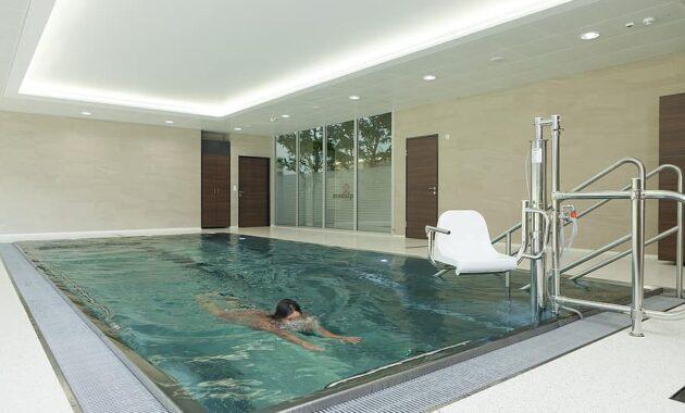 swim therapy swimmer swimming pool indoor swimming pool