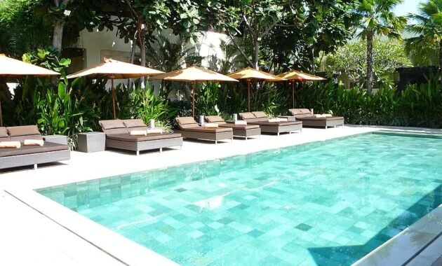 swimming pool indonesia bali poolside relaxation pool swimming outdoor resort