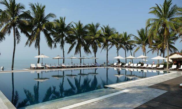 vietnam south east asia hoian pool swim sea vacations tourism hotel