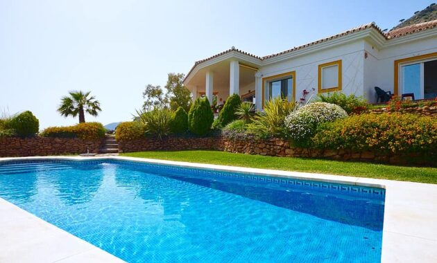 villa holiday spain swimming pool swimming relaxing sunshine relaxation vacation