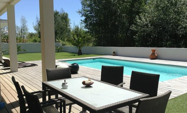 villa swimming pool renting grau d agde