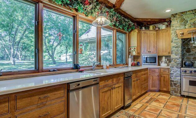 window inside indoors house room estate kitchen