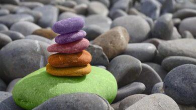 balance stones meditation zen stone garden sea round pebbles pebble