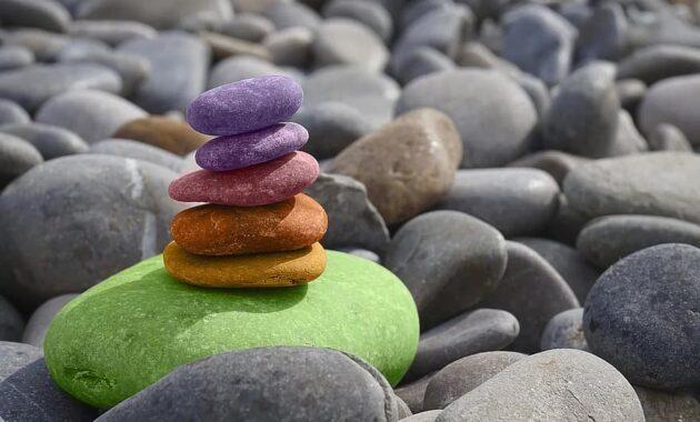balance stones meditation zen stone garden sea round pebbles pebble How to Get Rid of Snakes Under Concrete Slab