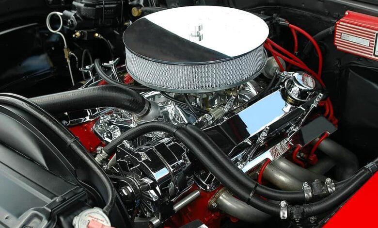 car engine motor clean customized engine vehicle auto automobile transportation