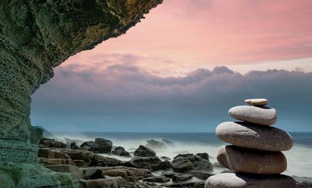 feng shui stones coast spirituality meditation zen asia spiritual relaxation