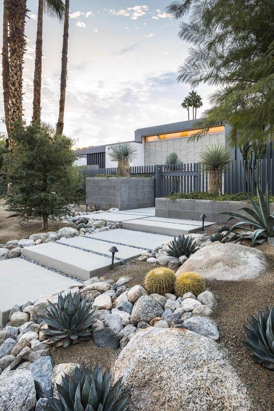landscaping ideas desert design