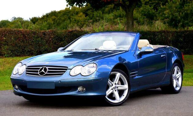 mercedes car luxury modern automotive transport motor vehicle style