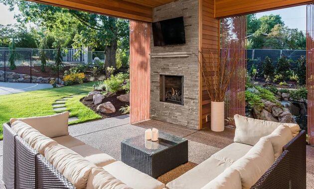 patio backyard deck porch garden yard home summer outdoor