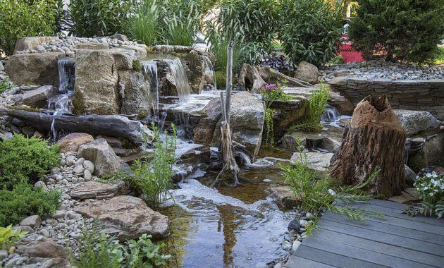 pondless waterfalls waterfalls backyard waterfall aquatic plants stumps natural pond aquatic water