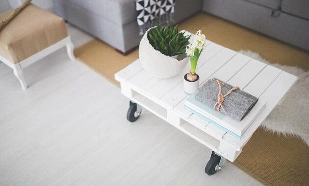 table coffee table white industial scandinavian lifestyle home interior decor