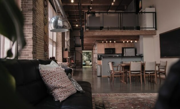 dark accent living room concept