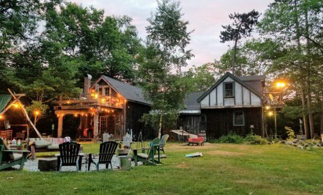 wooden backyard studio ideas